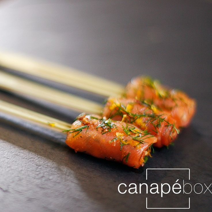 Christmas-Canape-Delivery-London-rolled-smoked-salmon-orange-zest-pink-pepper
