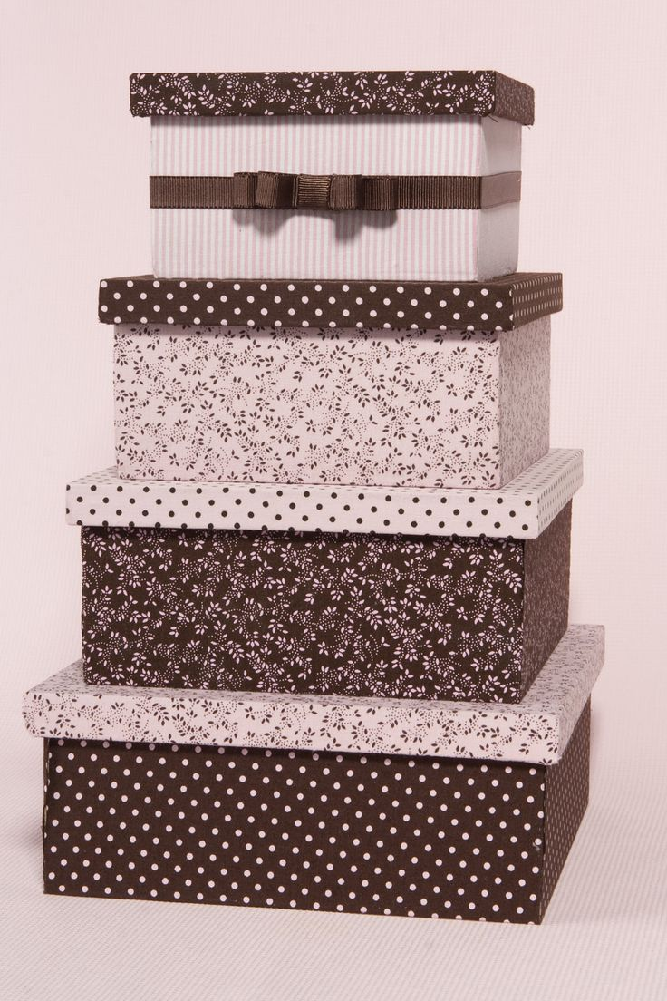 Flor de Pano Atelier: Caixas de madeira forradas de tecido                                                                                                                                                                                 Mais