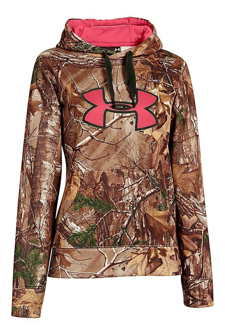 Under Armour ColdGear Big Logo Camo Hoodie for Ladies | Bass Pro Shops