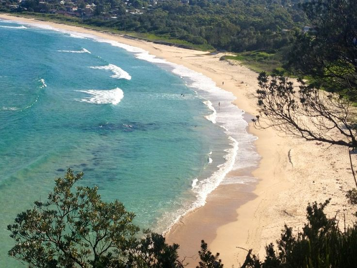 Mollymook Beach in Mollymook, NSW