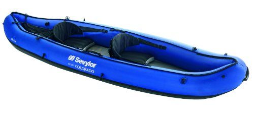 """The Sevylor Colorado 2 Person inflatable kayak is a high end 2 person inflatable kayak. It gets great reviews like """"a must buy"""" or """"five stars"""". Get one now"""