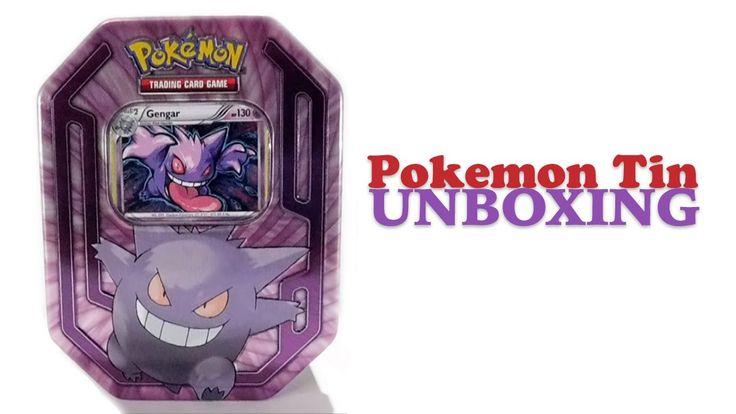 Unboxing - Pokemon Tin: Gengar