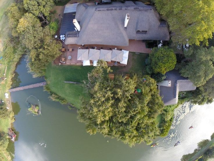 Aerial picture of our venue