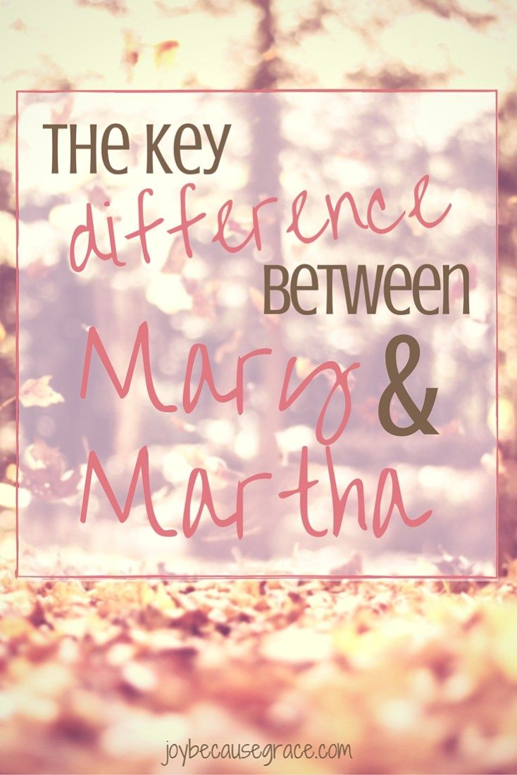 Oh Mary and Martha! Mary sat. Martha served. Why did Jesus say that Mary chose the better option, when it was Martha who was serving Him?