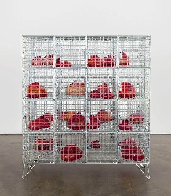 Mona Hatoum . cells, 2014