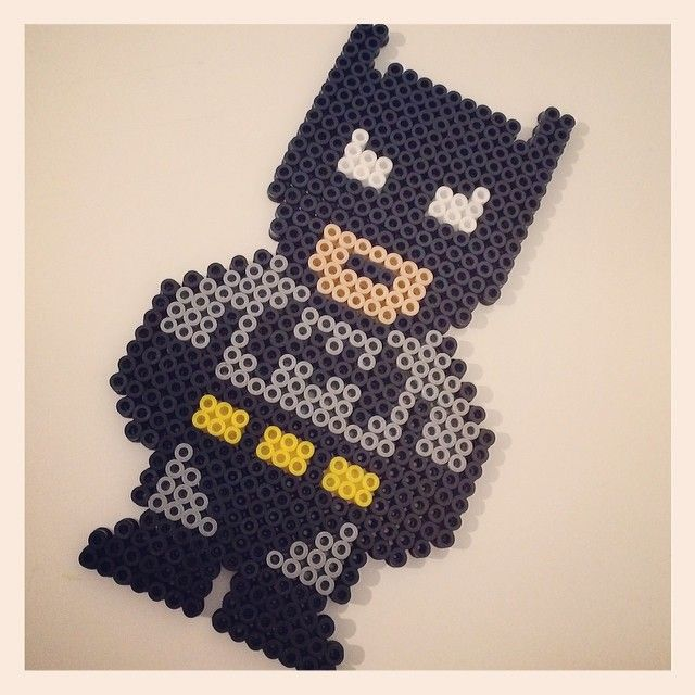 Batman Hama Bügelperlen by minus78