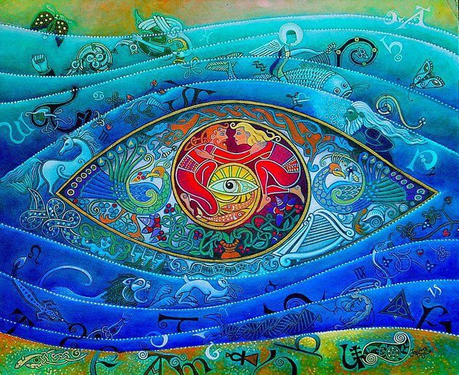 The Eye of Oneness ~ Twinflame Mandala