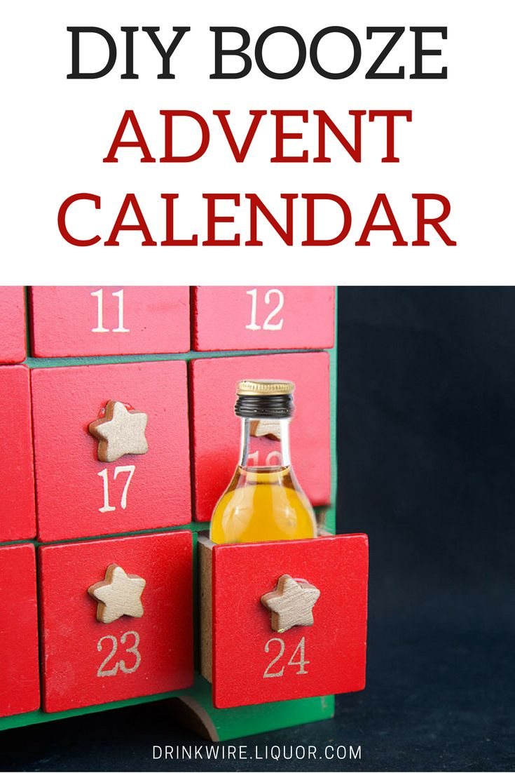 """""""Didn't we all love the idea of advent calendars when we were growing up? The little doors you got to open, a small treat or gift. What's not to love about them? So when a friend pointed out a #whiskey #advent calendar a couple years ago, we were very excited about the prospect. Then our """"adult"""" brains kicked int: Couldn't we just as easily make our own?"""""""