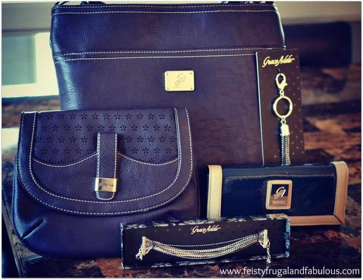 new brand from Scentsy Grace Adele - handbags and accessories