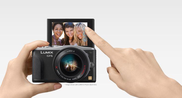 DMC-GF6KEB Lumix G Compact System Cameras (DSLM) - Panasonic