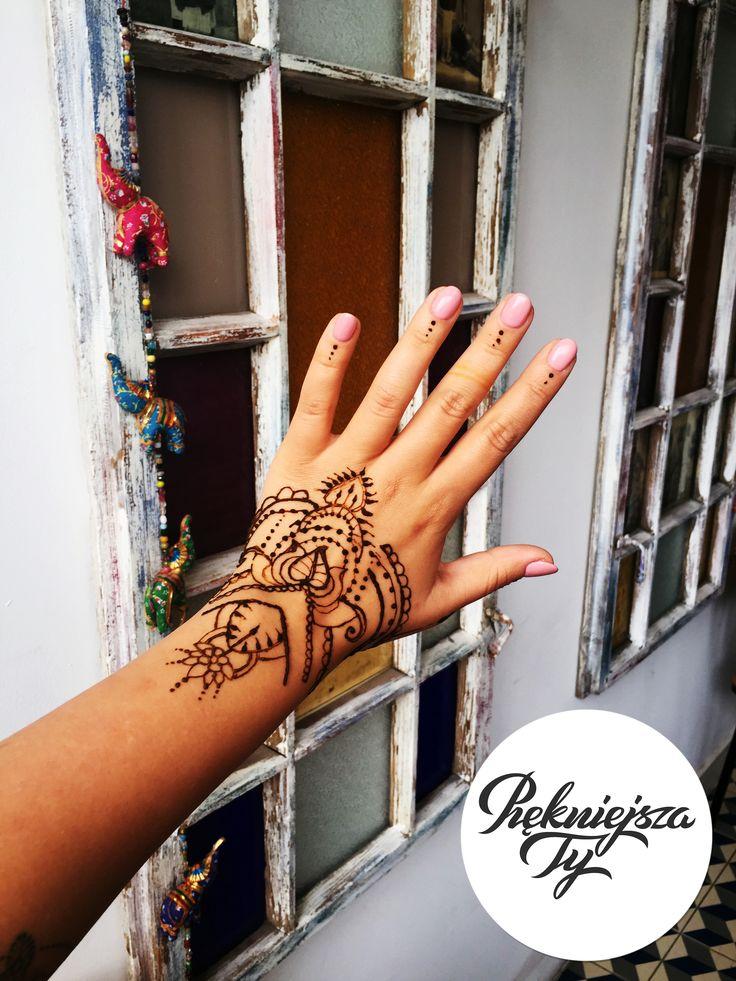 Tatuaż z Henny, Henna Tatoo #skierniewice #tatuaż #henna