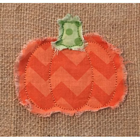 Home :: Designs :: Raggy Pumpkin Applique