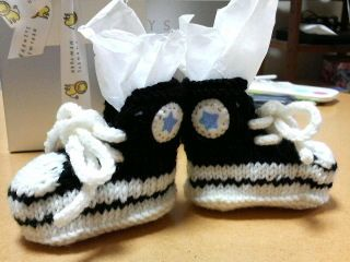 Converse Booties by hillsmel - *pattern Baby Shoes - Converse Pinterest ...