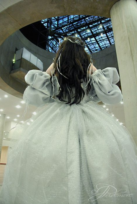 Sarah's dress from Labyrinth. I want this even though I have nowhere to wear it.