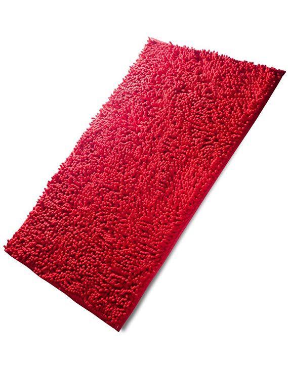 Fadesun Super Soft Absorbent Non Slip Microfiber Chenille Carpet Doormat Bath Mat Rug Carpet Floor Rug For Bedroom Sitti Bath Mat Rug Rugs On Carpet Floor Rugs