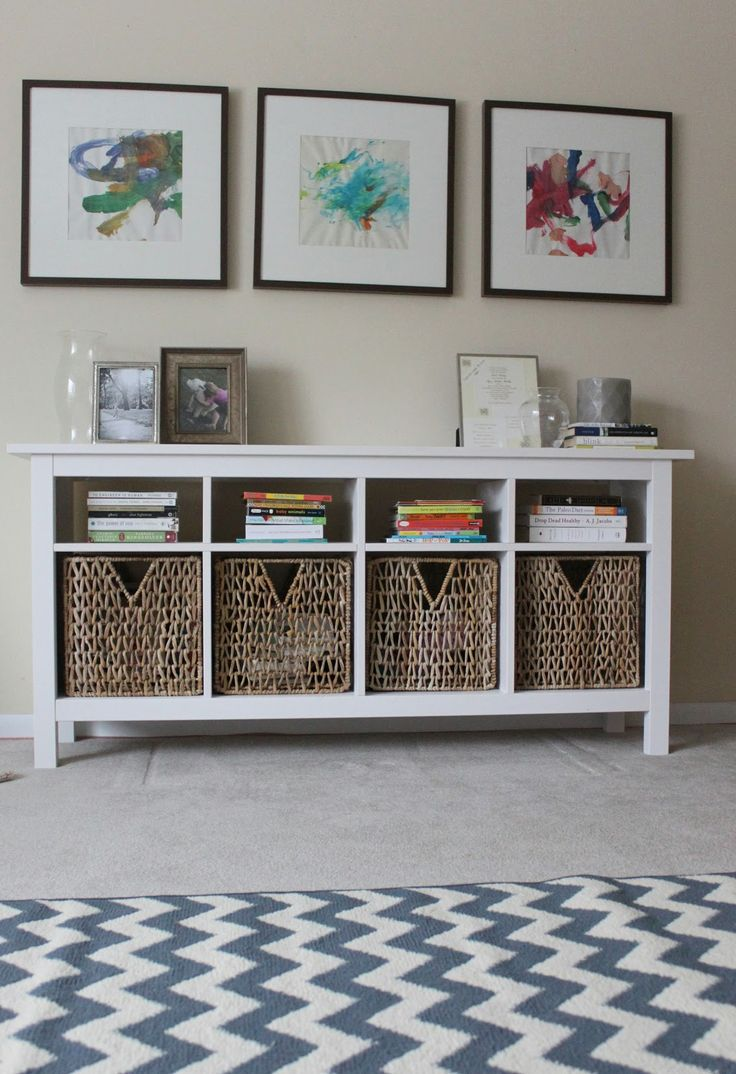 Use hemnes sofa table as media center below wall mounted flat screen? $180 Sofa Table Set Up
