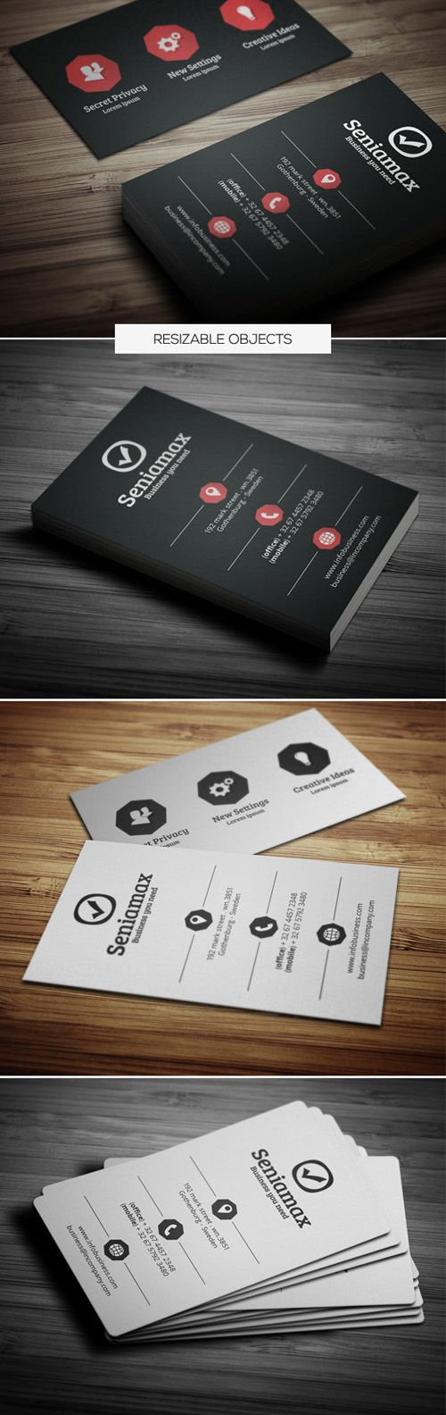 122 best business cards designs images on pinterest business corporate business card magicingreecefo Gallery