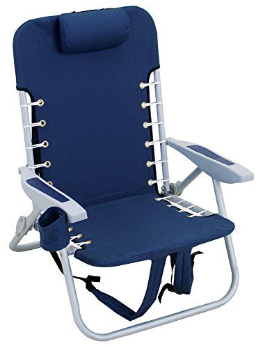 backpack chairs home depot chair legs the rio beach offers hands free portability and is lightweight to carry adjustable shoulder strap with large storage pouch