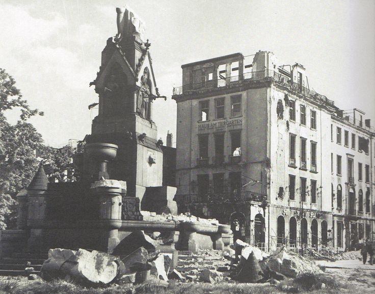 Landesbildstelle Berlin, Kemperplatz, Tiergartenstraße, Sommer 1945.