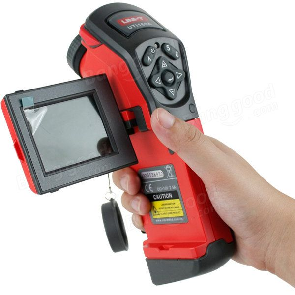 UNI-T UTi160A Handheld 2.5inch TFT LCD Infrared Thermal Imager Camera Visual Infrared Thermometer