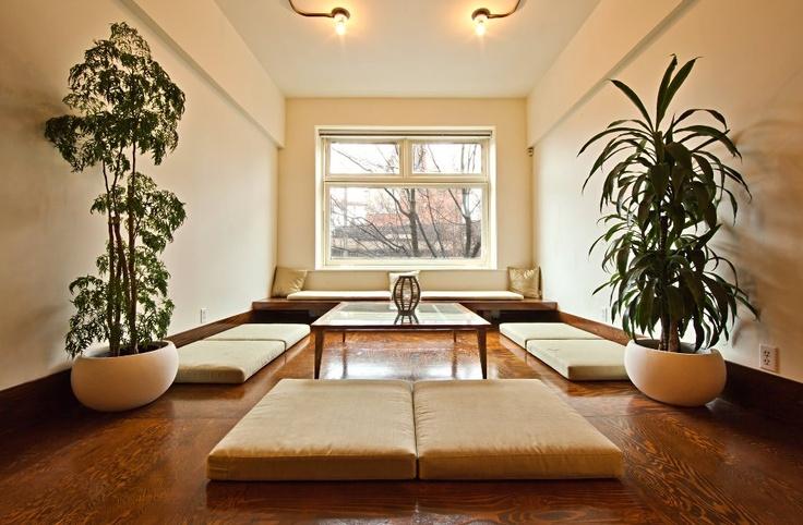 Dave Hamilton's beautiful photo of the Inner Space Yoga tea room.