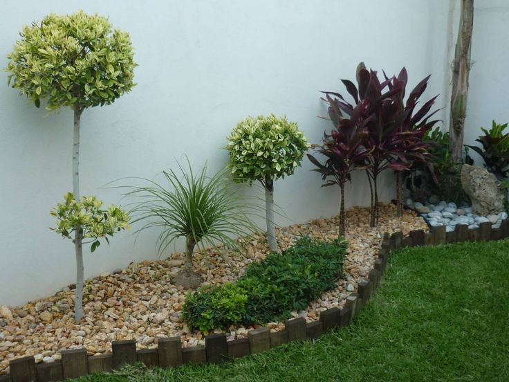 8 best desain taman rumah modern minimalis images on for Modelos de jardines interiores