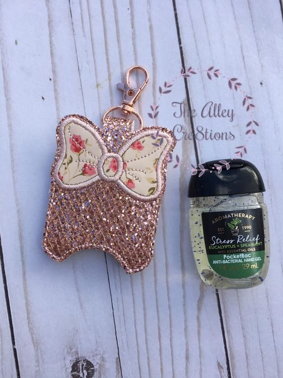 This Cute Minnie Mouse Inspired Antibacterial Holder Is The