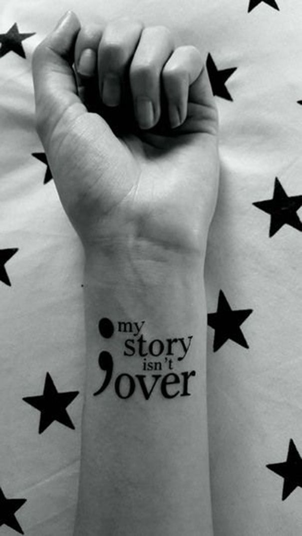 Semikolon Zeichen Tatowierung U Bedeutung Strong Tattoos