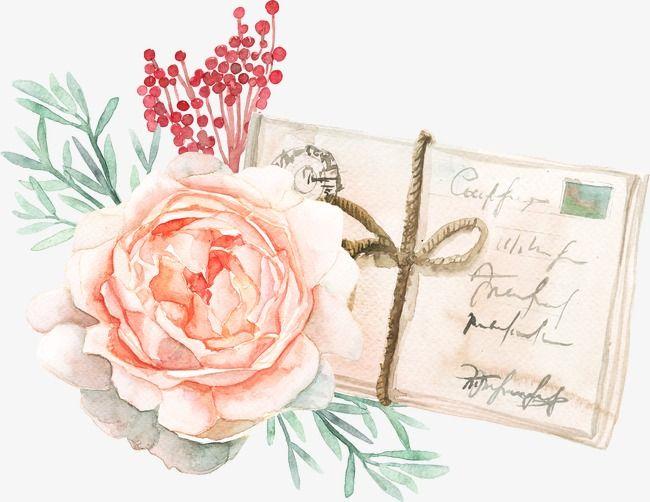 Открытки, цветы на открытках акварелью