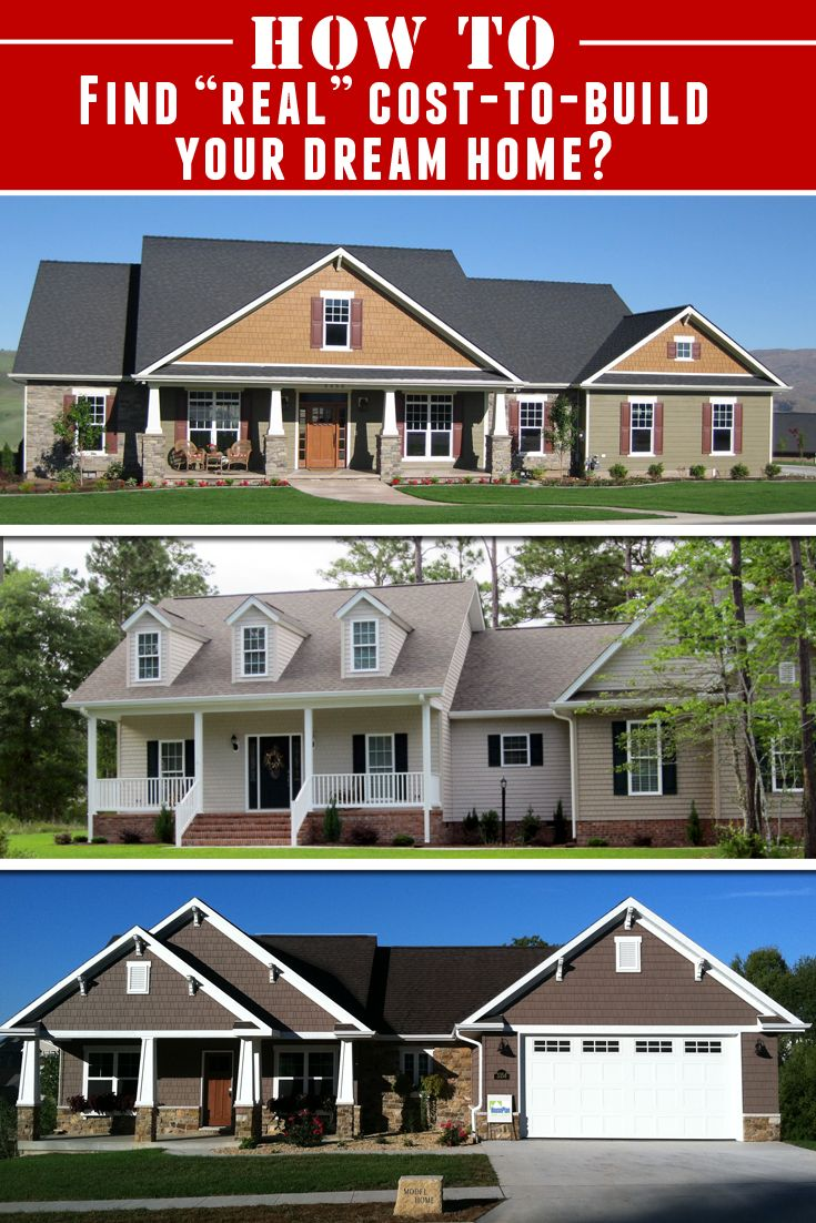 "Always wanted to build your very own ""Dream Home"" but didn't know how how much it would cost-to-build?  Well, now you do..  http://builddreamhouse.net/cost-to-build-dream-home"