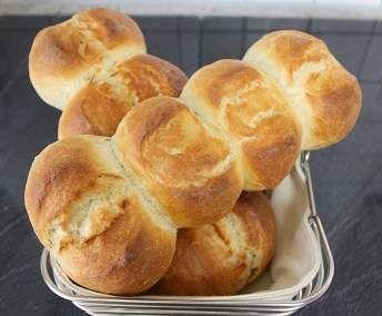 Rezept Stangensemmeln wie vom Bäcker von Sybis_Rezepte - Rezept der Kategorie Brot