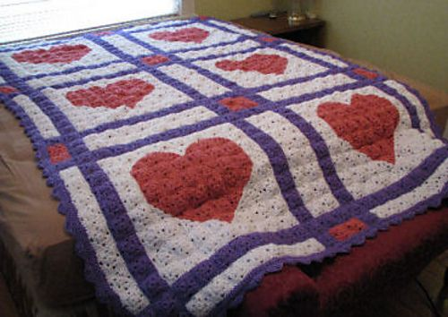 Free Crochet Lap Quilt Patterns : 17 Best images about Crochet quilts on Pinterest Star ...