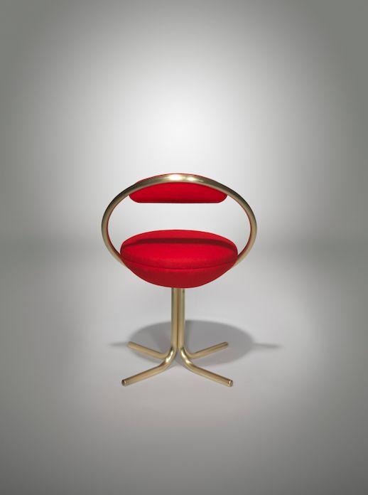 Hoop Dining Chair Brass | #LeeBroom