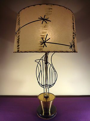 Eames 1950s MCM Era Frederick Weinberg Atomic Wire Leaf Flower Pot L& & 184 best Atomic Age Lamps images on Pinterest | Lights Mid ... azcodes.com