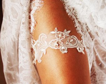 Handmade Luxury Wedding Garter Bridal Garter