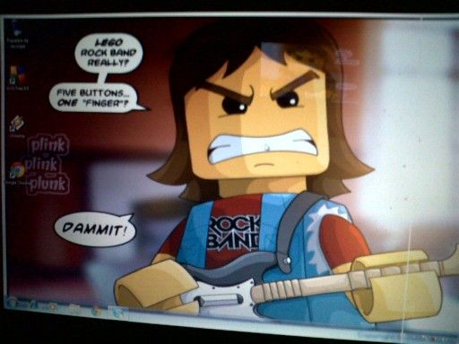 Lo lindo del Rock Band Lego®