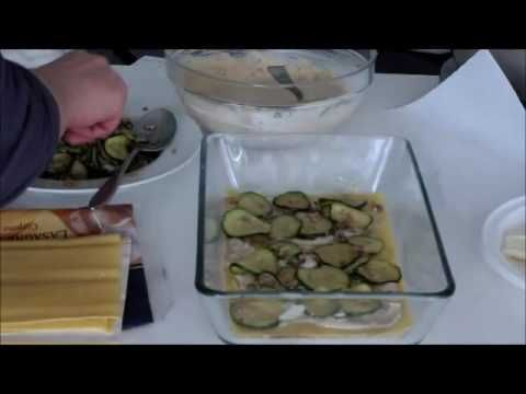 video ricetta lasagne alle noci e zucchine da I Sapori di Ethra