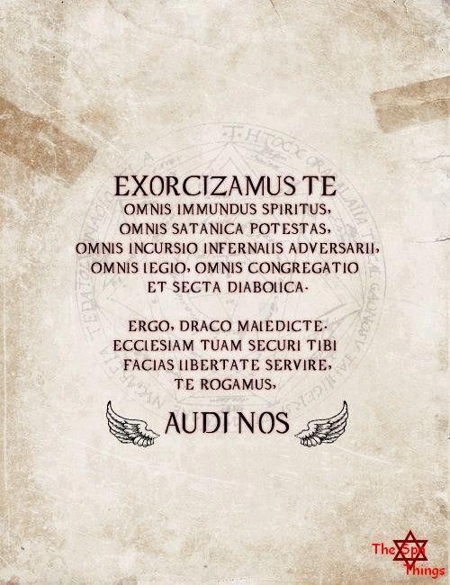 Resultado de imagem para exorcismo supernatural