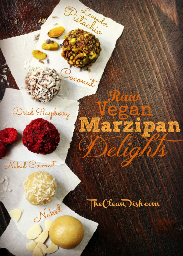 So excited. I LOVE marzipan, and this looks very easy. via @Thank Your Body @Rose