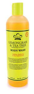 Lemongrass & Tea Tree Body Wash - 13 oz.
