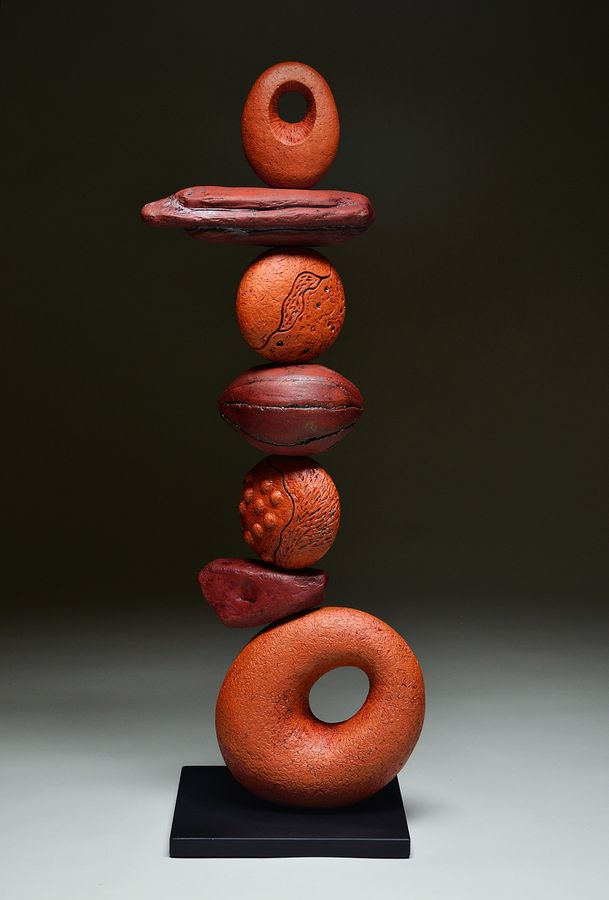 ByersMcCurryStudio.com - Red Sky - Totem Series