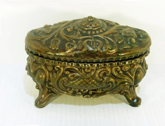 68 best Victorian Jewelry Boxes images on Pinterest Antique boxes