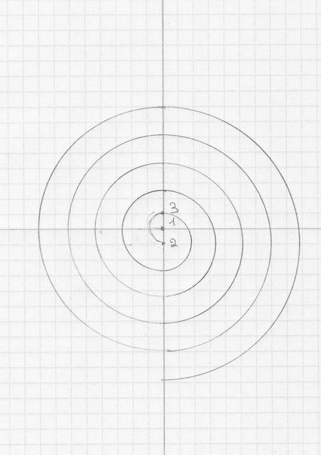 tuto : comment tracer une spirale