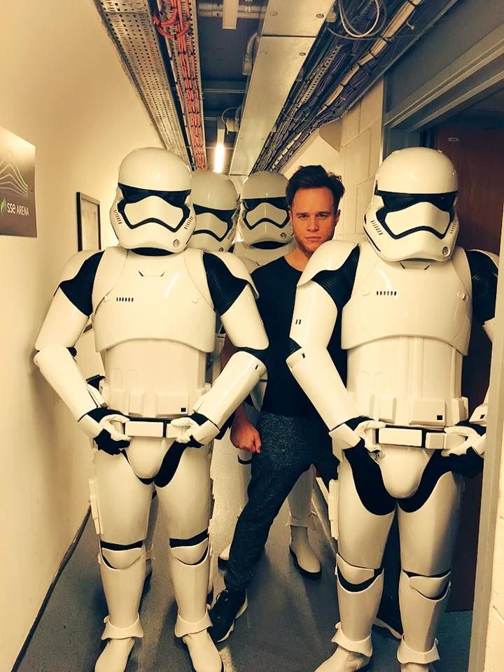 Olly Murs and friends