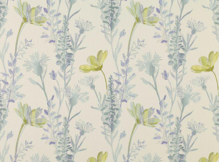 Option for Mum's Room #3  Bloom Delphinium (10968-101) – James Dunlop Textiles | Upholstery, Drapery & Wallpaper fabrics