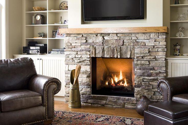 http://www.m-habitat.fr/cheminees/styles-de-cheminees/les-cheminees-traditionnelles-3125_A #bois #chemine #hiver