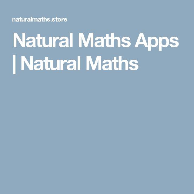 Natural Maths Apps | Natural Maths