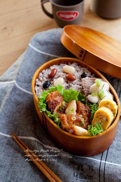雑穀ご飯と鶏マヨキムチのお弁当。|あ~るママオフィシャルブログ「毎日がお弁当日和♪」Powered by Ameba