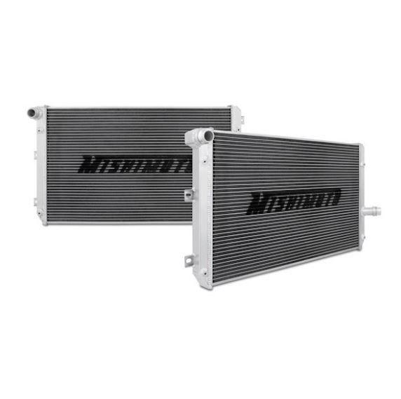Coolant Radiator, High Output, Aluminum, Mk5 Volkswagen GTI/GLI 2.0T FSI, Aluminum