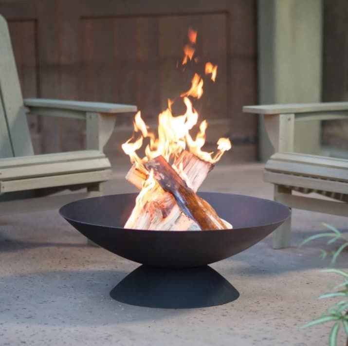 27 Things That Ll Transform Your Backyard Into The Perfect Getaway Cast Iron Fire Pit Wood Burning Fire Pit Iron Fire Pit